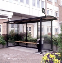 Compact Smoking shelter