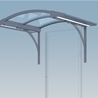 Entrance Canopy City 90 with brackets