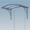 Entrance Canopy Light with brackets