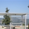 Bench Alma, with brackets in weather shelter Light, Spanien